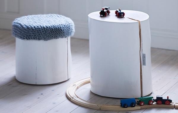 Omtalade Ta in naturen och gör bord av stubbar! ‹ Dansk inredning och design FG-49