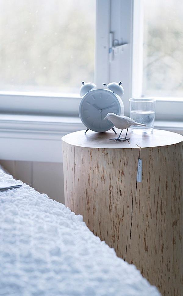 Ta in naturen och gör bord av stubbar! u2039 Dansk inredning och design