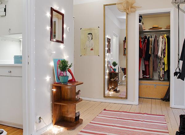 Hur inreder man en hall p en liten yta dansk inredning - Como decorar un hall ...