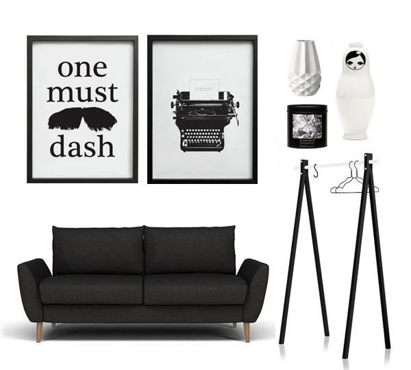 Grafiskt i svart och vitt! u2039 Dansk inredning och design