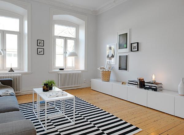 Inspirerande vardagsrum hos alvhem m kleri dansk - Ideas para decorar salones pequenos ...
