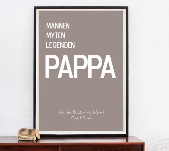Fars Dag Present Till Nybliven Pappa