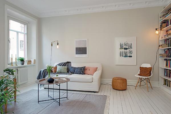 En sann sekelskiftesdr m p hvitfeldtsgatan dansk for Decoracion de interiores departamentos 2 ambientes