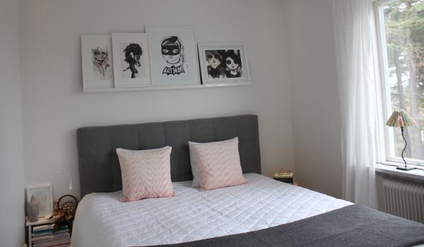 Inspirerande sovrum från vår instagramföljare Therese u2039 Dansk inredning och design