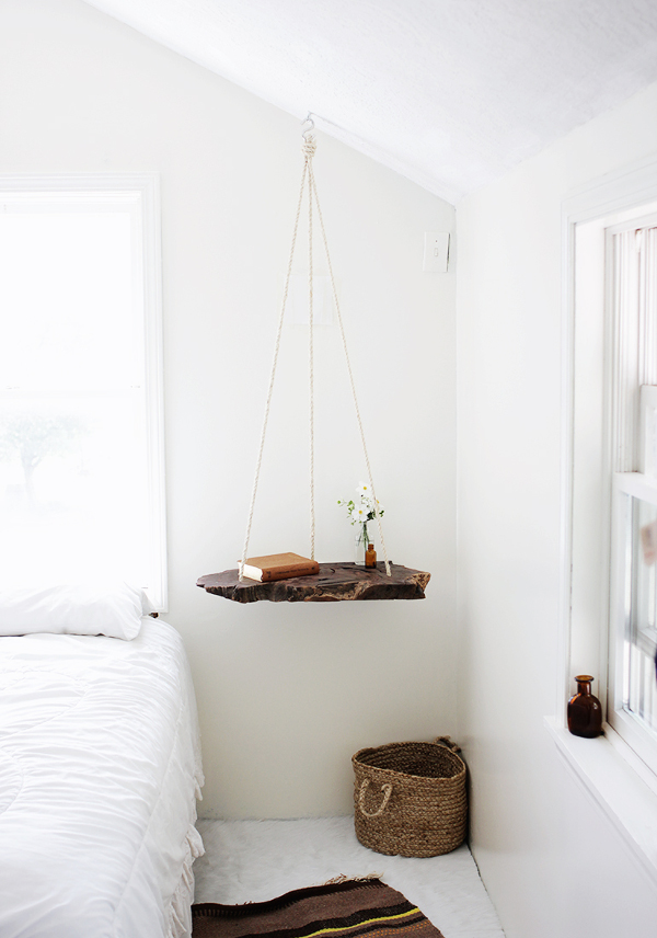 DIY – gör ditt egna hängande bord ‹ Dansk inredning och design