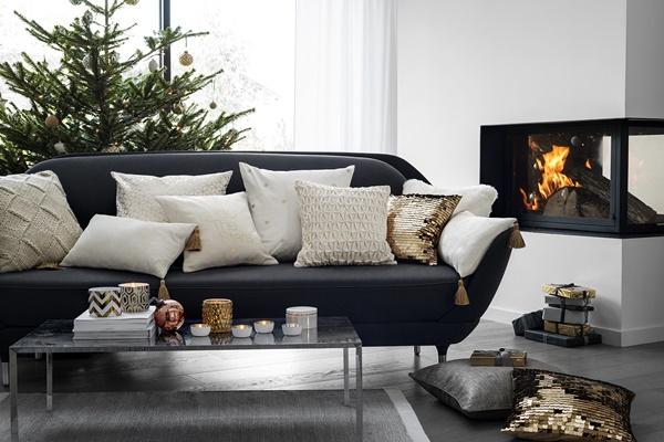 ... vitt och guld hos Hu0026M Home julen 2014 u2039 Dansk inredning och design