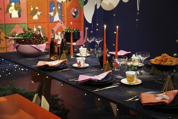 Royal copenhagen christmas table
