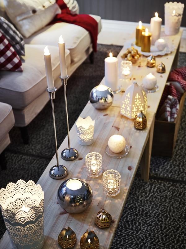 IKEA Julen 2014 ljus