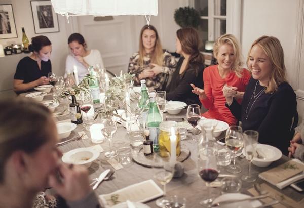 bloggträff Italiensk fest afton trendenser 9