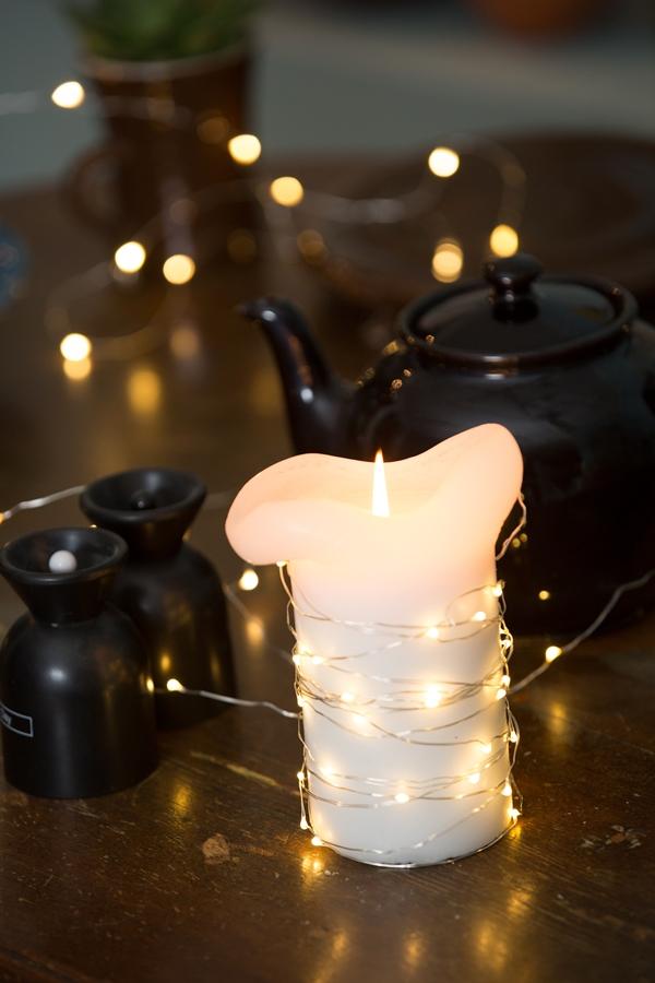 micro ljusslinga watt och veke