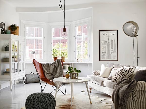 Elegant fyra i vackert landshövdingehus u2039 Dansk inredning och design