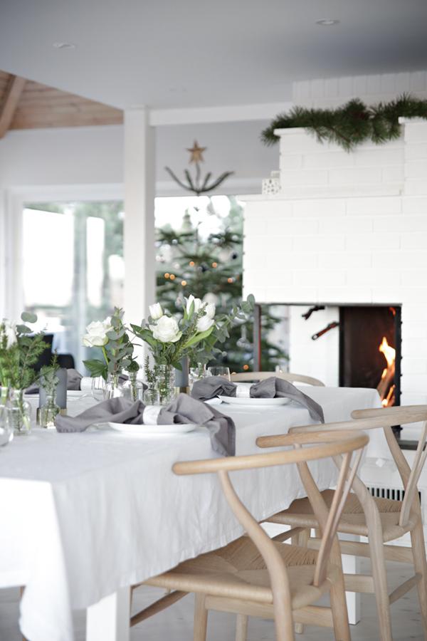 Julpyntat Hemma Hos Duktiga Nina Holst Dansk Inredning