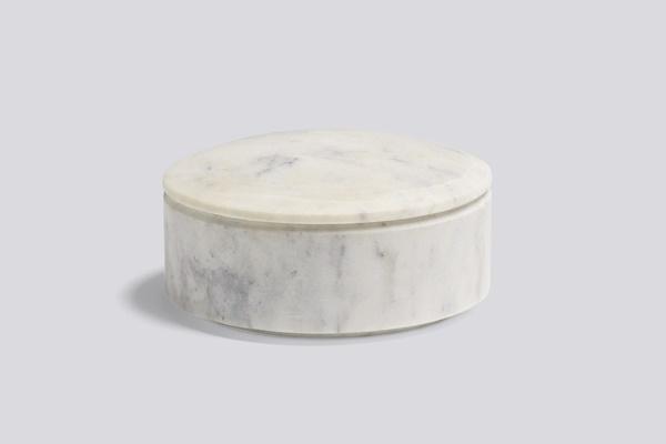 WH Lens Box Unstackable S white
