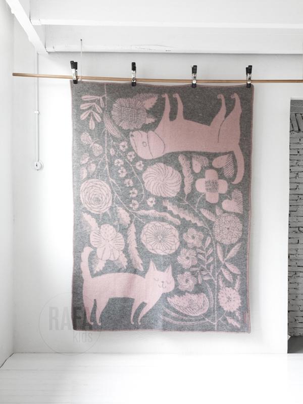 wool blanket cat and dog rafa-kids 01
