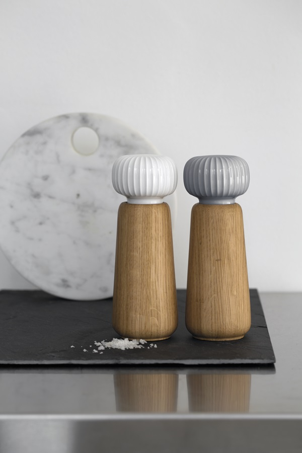 Hammershøi Grinders White and Marble