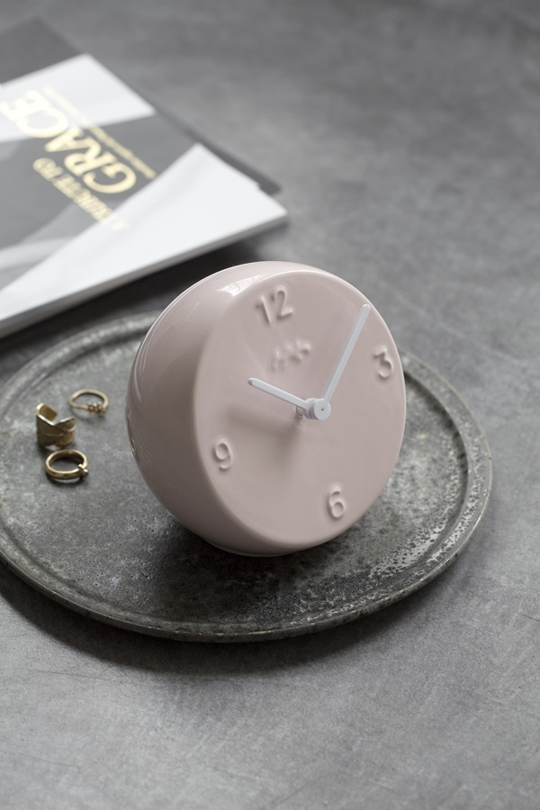 Ora Table Clock Rose 1