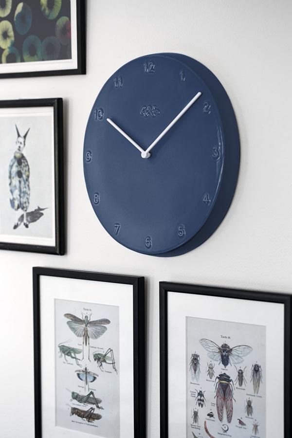 Ora Wall Clock Pigeon Ø300