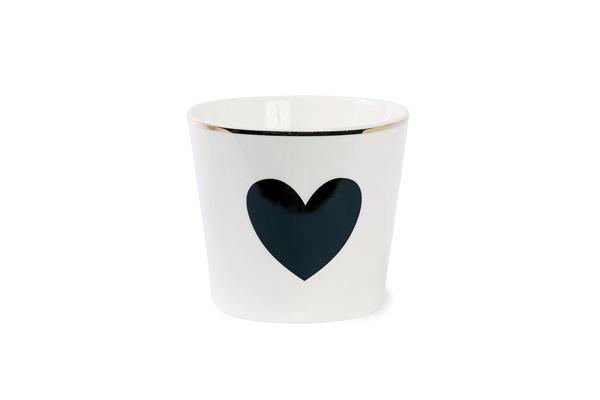mugg keramik heart