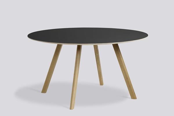 Copenhague Round Table CPH25 lacquer black