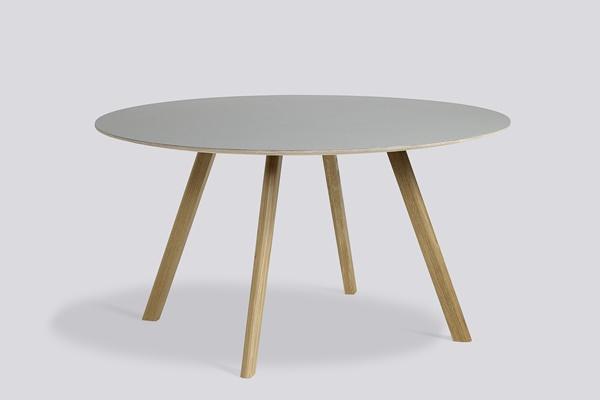 Copenhague Round Table CPH25 lacquer off white