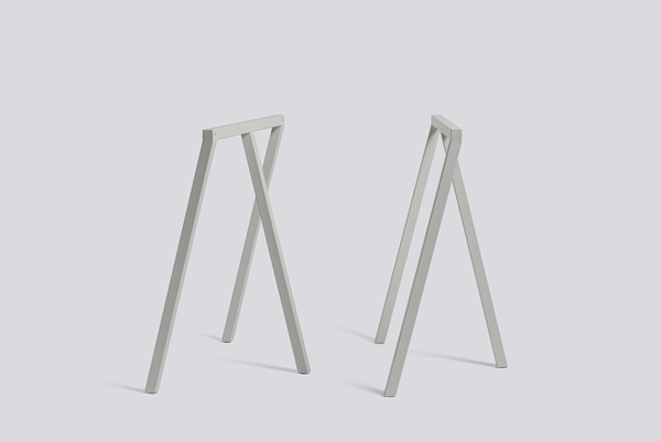 Loop Stand Frame grey