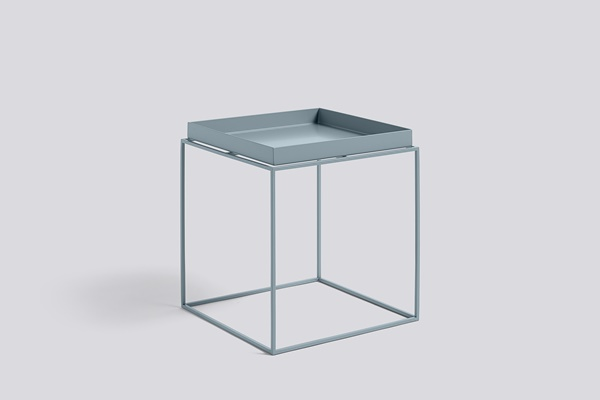 Tray Table Blue 40x40