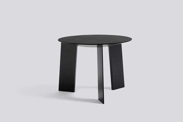 WH Elephant Table 50 black stained