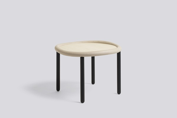 WH Serve Table 51 natural top-black legs