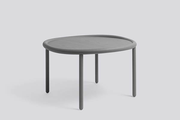 WH Serve Table 72 grey top-grey legs