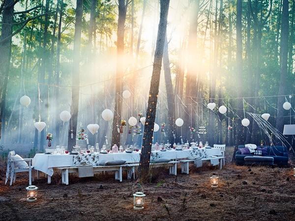IKEA Bröllop fest tema