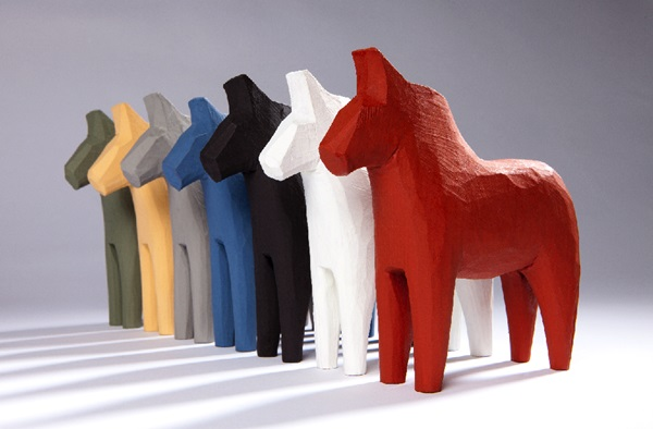7 Hästar falu rödfärg
