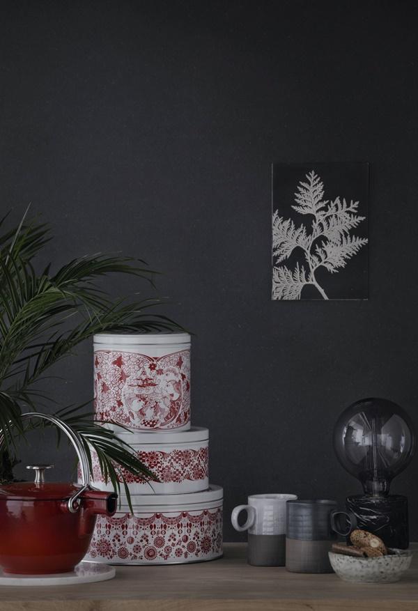 Bjørn Wiinblad_Christmas jars_interior