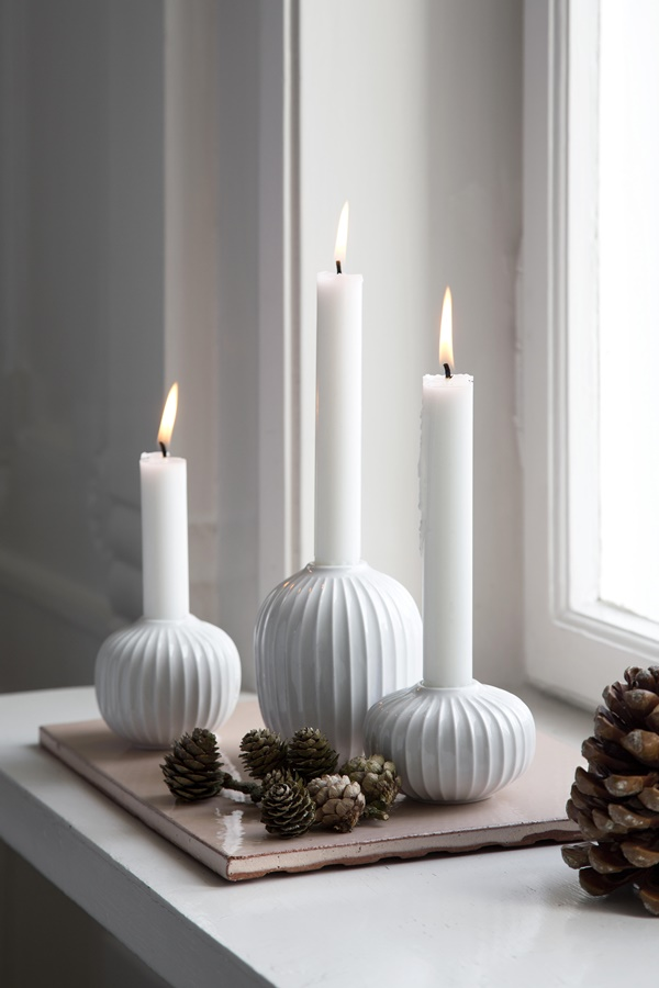 Hammershøi Candle Holders White H100, H65 and H55_High resolution JPG_232098