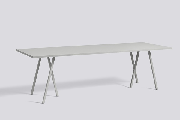 Loop Stand Table L250 grey