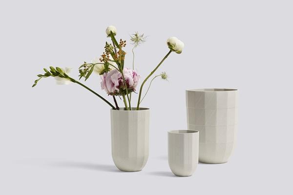 Paper Porcelain Vase Family