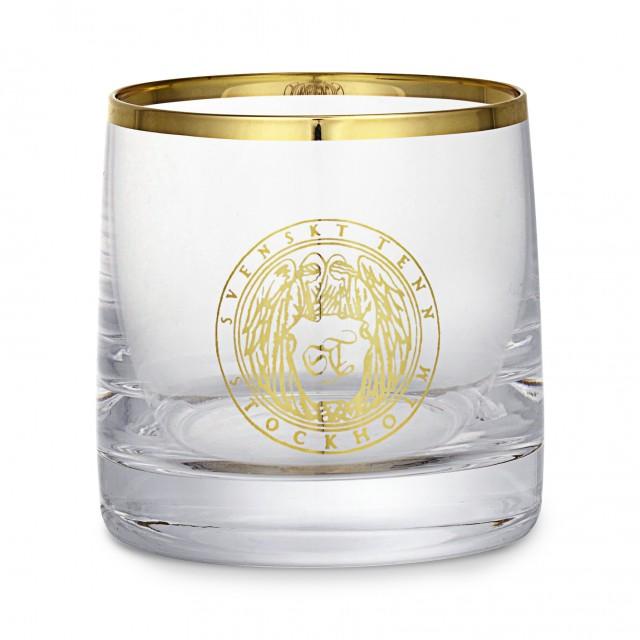 glas med guldkant