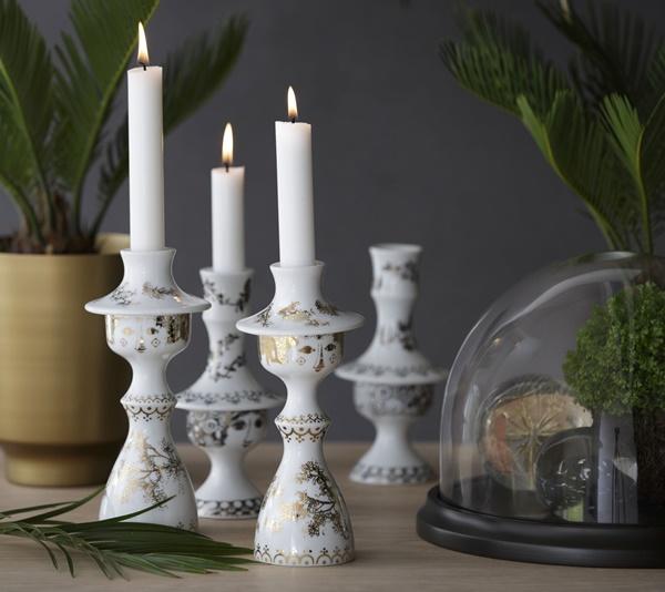 Bjørn Wiinblad_Rosalinde Candlestick _interior