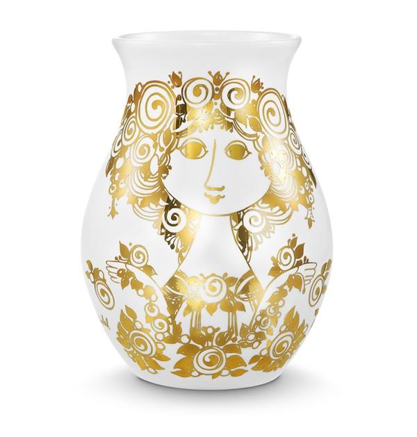 Bjørn Wiinblad_Rosalinde vase gold