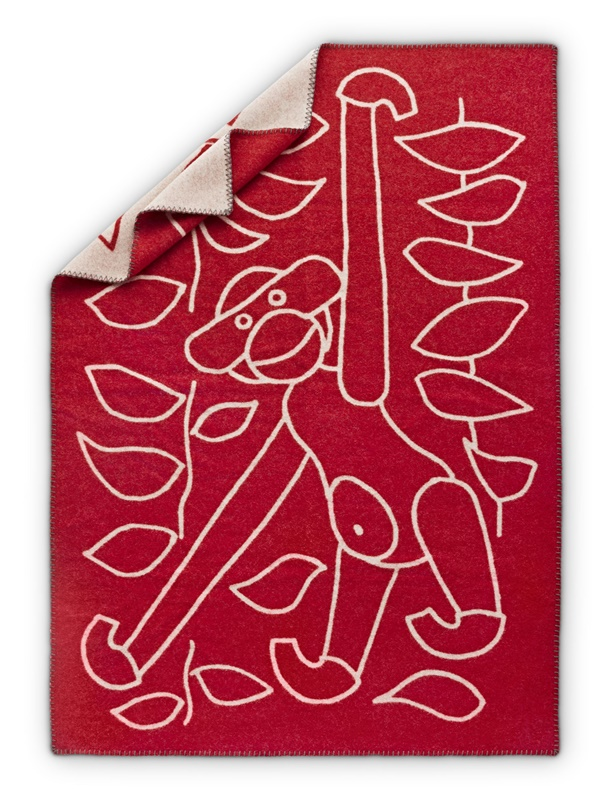 Kay Bojesen_Blanket red
