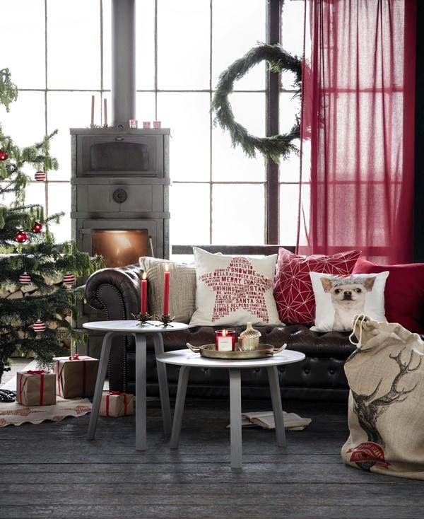h m home julen 2015 dansk inredning och design. Black Bedroom Furniture Sets. Home Design Ideas