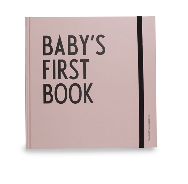 Baby's first book girl
