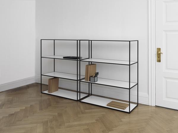 byLassen_Twin Bookcase_Black_Frame_Lifestyle_High Res