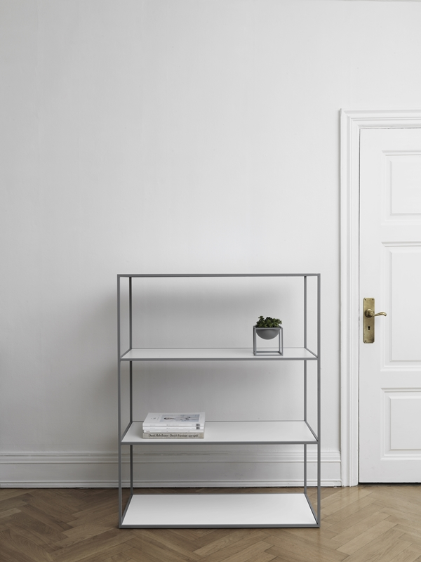 byLassen_Twin Bookcase_Cool grey_Kubus Bowl_Lifestyle_High Res (2)