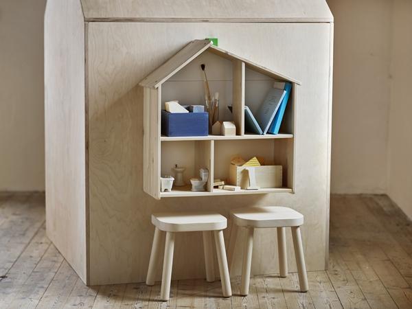 IKEA_FLISAT_dockskap_vagghylla_barnpallar