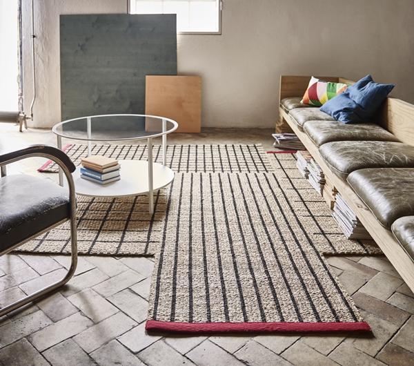 IKEA_TERNSLEV_matta_250x250cm_natursvart-