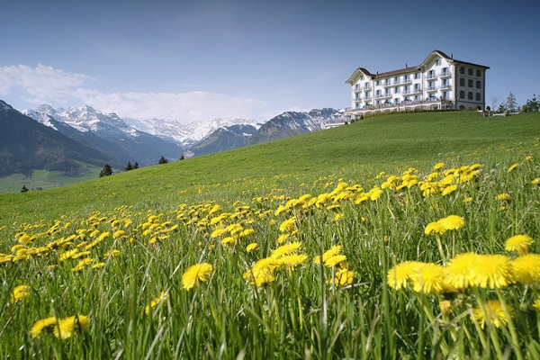 hotel-villa-honegg-aussenansicht-fruehling