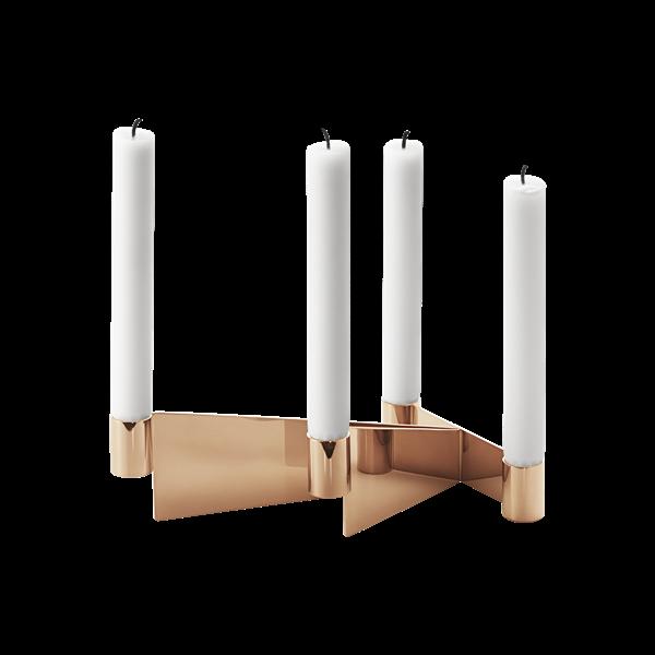 URKIOLA-ljusstake-rostfritt-staal-och-PVD