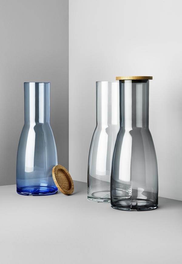 7081600_clear glass carafe_7081601_smokey grey carafe_7081602_water blue carafe