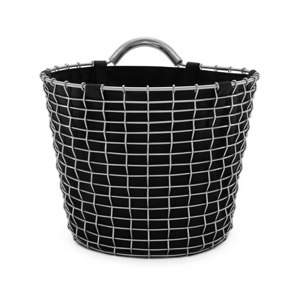 Basket liner black Bin 16 acid proof stainless