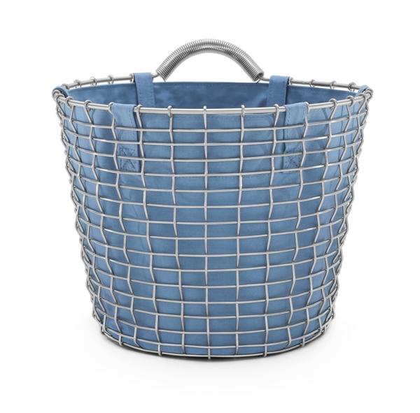 Basket liner blue Bin 16 acid proof stainless